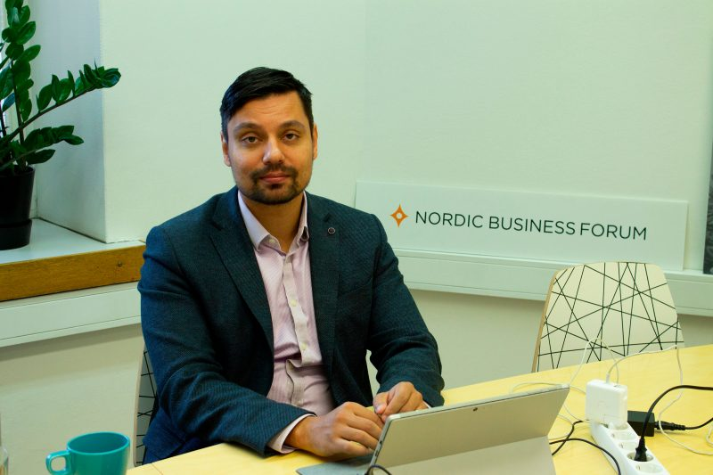 Image result for aslak nordic business forum